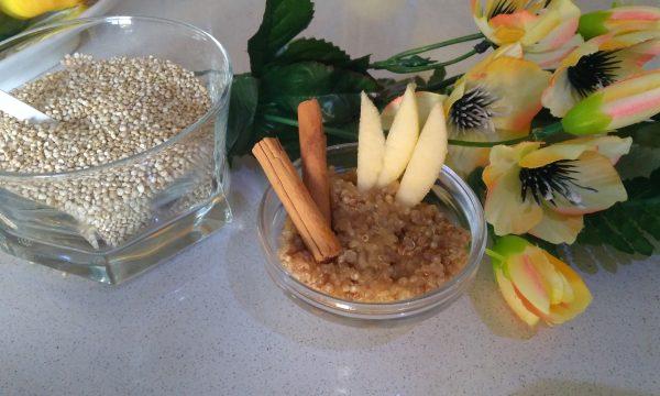 Quinoa mela e cannella